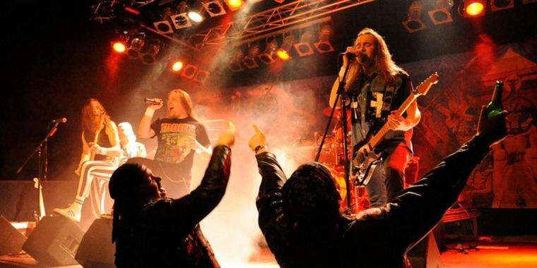 Iron Maiden Tributern - The Neighbour of the Beast! in der CD Kaserne Celle