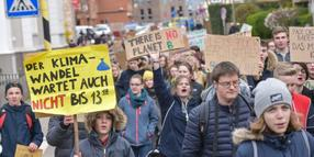 Fridays-for-Future-Demo in Celle.