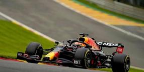 War in Spa-Francorchamps Trainingsschnellster: Max Verstappen. Foto: Francisco Seco/AP/dpa
