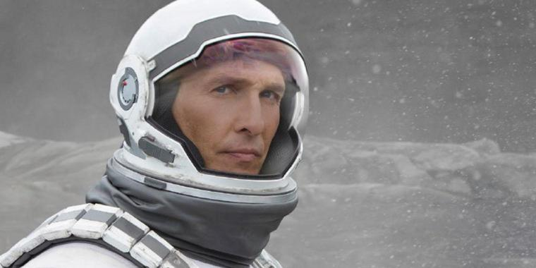"Matthew McConaughey als Wissenschaftler Cooper in dem Science-Fiction-Film ""Interstellar""."