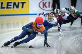 Shorttrack EM in Dresden 7