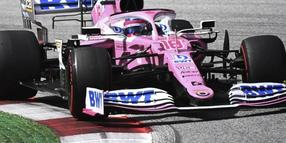 Eine Option für Sebastian Vettel: Racing Point, das Team mit den Rennwagen in pink?.