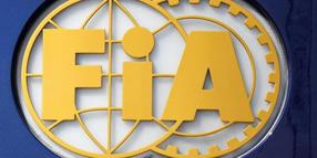 Das Logo der FiA (Federation Internationale de l'Automobile).
