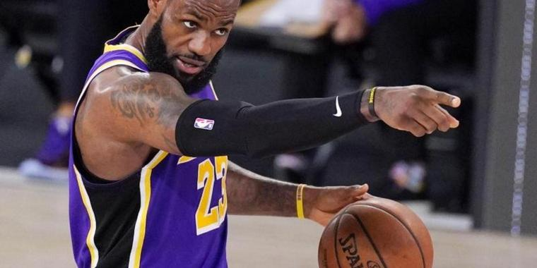 Peilt mit den Los Angeles Lakers die Meisterschaft in der NBA an.