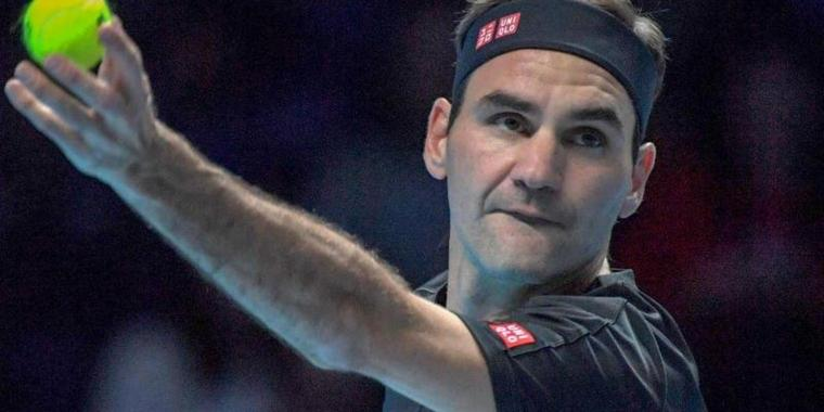 Roger Federer hat in London gegen Matteo Berrettini gewonnen.