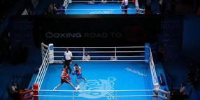 Die Olympia-Qualifikation der Boxer in London.