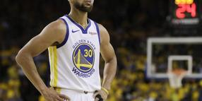 Blickt Richtung Olympia in Tokio: NBA-Star Stephen Curry.