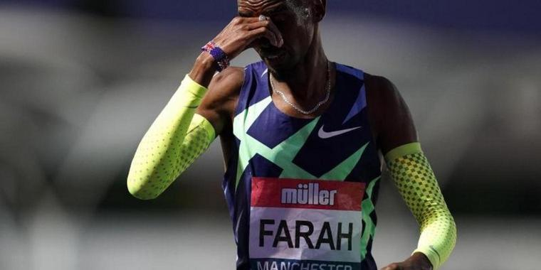 Lief in Manchester an der Olympia-Norm vorbei: Mo Farah.