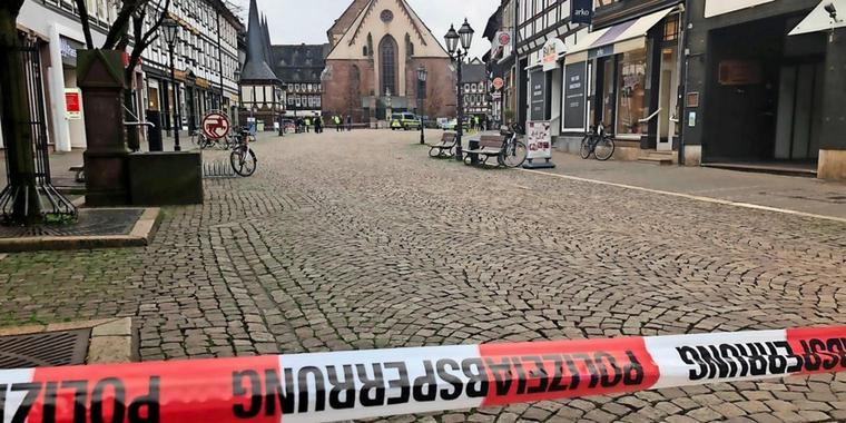 Bombendrohung in Einbeck.