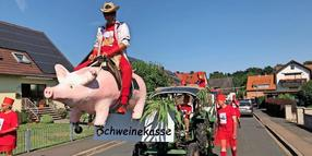 Kirmesumzug in Mengershausen