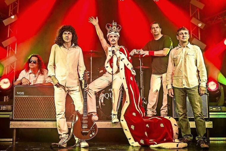 Die Queen-Coverband Princess
