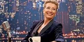 "Die Schauspielerin Emma Thompson in dem Film ""Late Night""."
