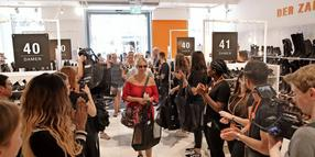 Hereinspaziert: Pre-Opening des Zalando-Outlets in Hannovers Innenstadt.