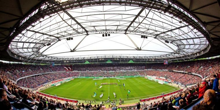 Die HDI-Arena in Hannover.