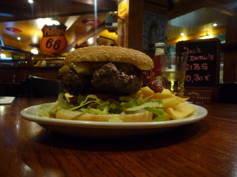 Burger bei Henrys in Hannover