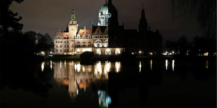 Earth Hour in Hannover