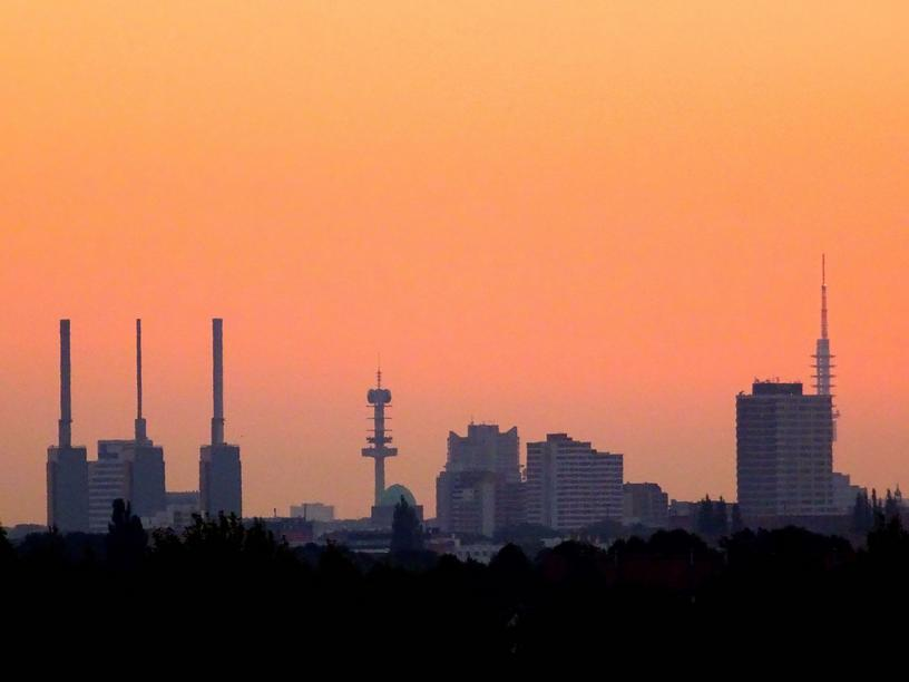 Sonnenaufgang in Hannover