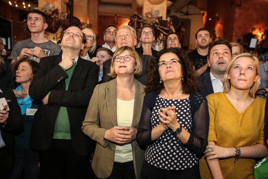 Grünen-Wahlparty 1