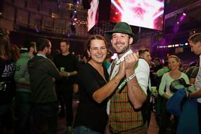 Die Young Farmers Party bei der Agritechnica.