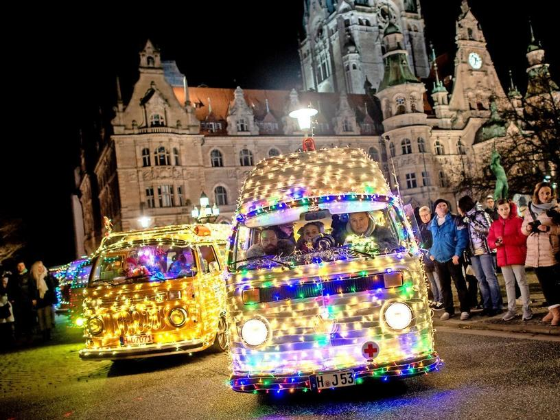 """""""Twinkle Light Cruise"""" in Hannover."""