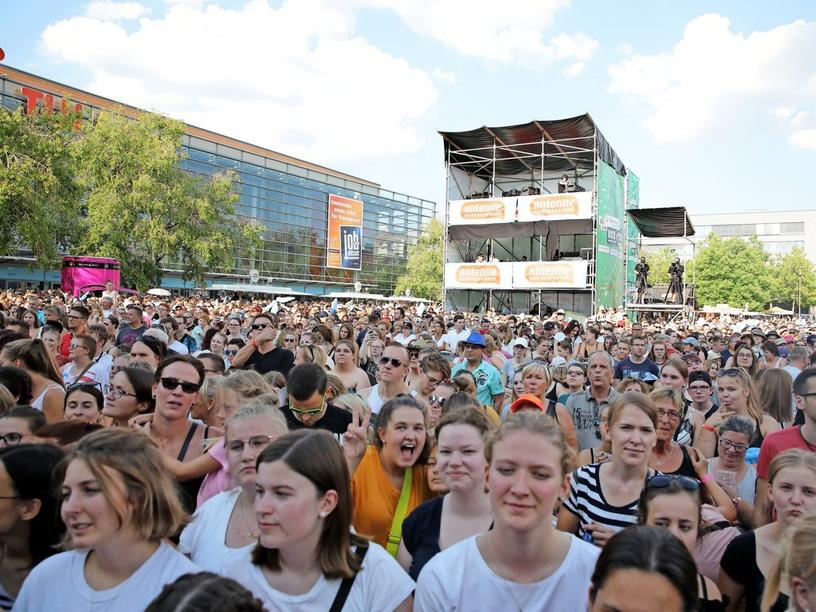 17.500 bei Stars for free 2019 in Hannover auf der Expo-Plaza.