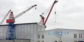 Die Elsflether Werft.