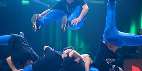"Foto: Die russische Gruppe ""Predatorz"" hat den internationalen Breakdance-Wettbewerb ""Battle of the Year"" in Braunschweig gewonnen."