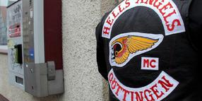 Verboten: Hells Angels in Göttingen.