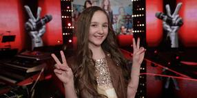 "Sofie Thomas im Finale von ""The Voice Kids""."