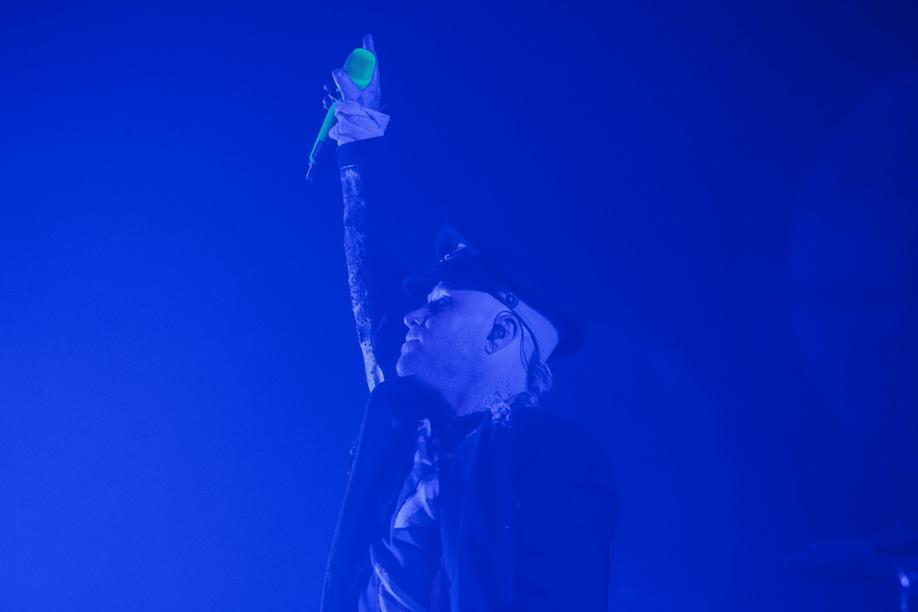 Hannover, 12.04.2015: The Prodigy live in der Swiss Life Hall. Foto: Philipp von Ditfurth