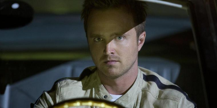 """Foto: Aaron Paul als Tobey Marshall in """"Need for Speed""""."""