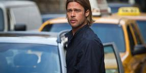 "Foto: Lebende gegen Untote: Brad Pitt jagt in ""World War Z"" Zombies."
