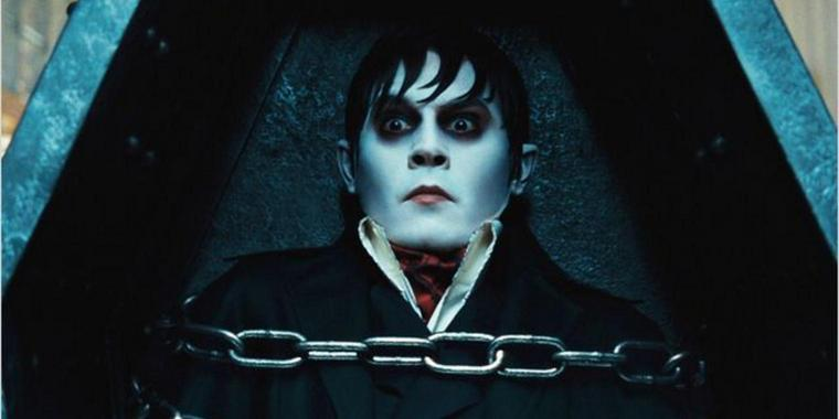 "Foto: Johnny Depp spielt in Tim Burtons ""Dark Shadows"" den Vampir Barnabas."