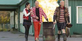 Foto: Undercover: Sarah (Mary-Louise Parker), Frank (Bruce Willis, Mitte) und Marvin (John Malkovich).