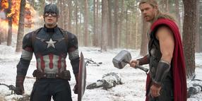 Foto: Mächtiges Team: Captain America (Chris Evans) und Thor (Chris Hemsworth).