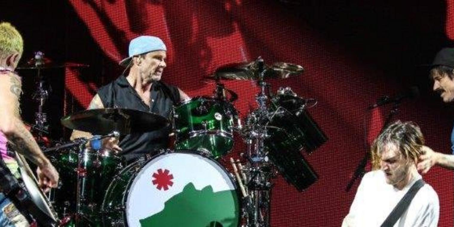 Die Red Hot Chili Peppers rocken Hannover