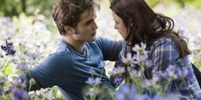 "Edward (Robert Pattinson) und Bella (Kristen Stewart) in ""Eclipse""."