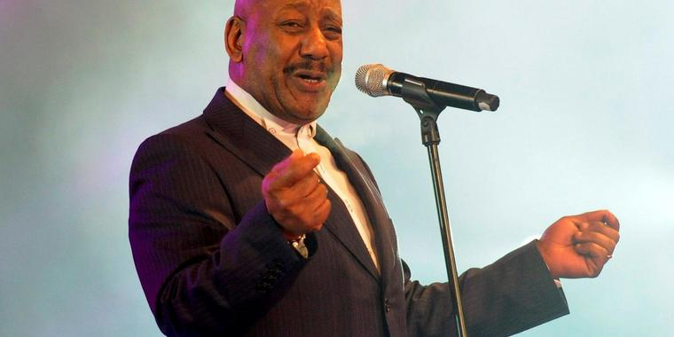Foto: Errol Brown bei der Silvesterparty am Brandenburger Tor im Jahr 2011.
