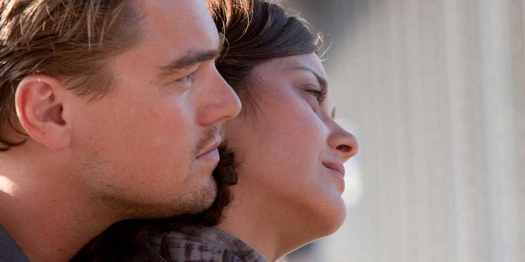 "Leonardo DiCaprio und Marion Cotillard in ""Inception""."