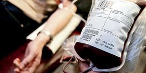 Rettungsroutine: Blutspenden beim National Blood Service Center in London.