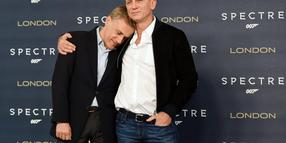 Foto: Christoph Waltz (l.) und Daniel Craig in London.