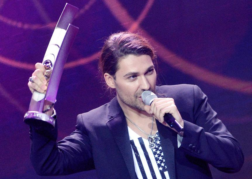 David Garrett hat einen Echo in der Kategorie 'best artist national rock/pop' bekommen.