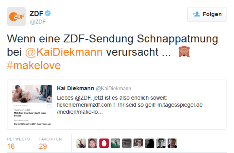 ZDF Reaktion
