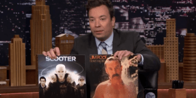 "Foto: US-Talker Jimmy Fallon hat sich in der ""Tonight Show"" über Scooter lustig gemacht."