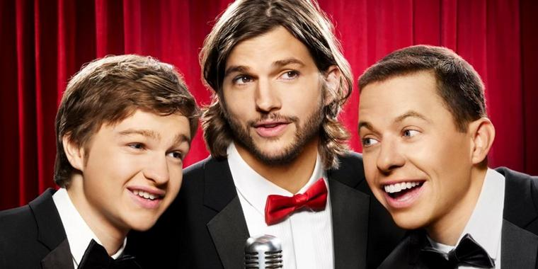 "Foto: Auch in Deutschland war ""Two and a Half Men"" ein Quotenrenner."