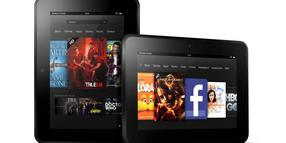 Foto: Mit dem Kindle Fire HD will Amazon den Tablet-Markt aufmischen.