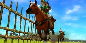 "Screenshot aus ""The Legend of Zelda: Ocarina of Time 3DS"""
