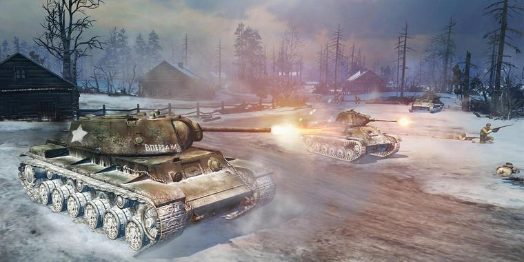 "Screenshot aus ""Company of Heroes 2"""
