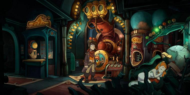 "Screenshot aus ""Deponia"""