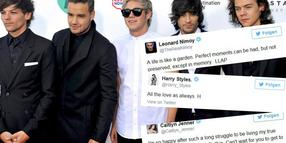 Foto: Die Mitglieder der britischen Boyband One Direction Louis Tomlinson, Liam Payne, Niall Horan, Zayn Malik and Harry Styles sind viermal unter den Top Ten der Twitter-Jahrescharts.